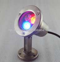 2015 New products waterproof CE RoHS Approved High power 3w led underwater light