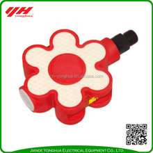 Red flower bicycle pedal in high quality