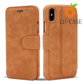 Factory price Leather flip mobile phone case for iPhone7/8/samsung case
