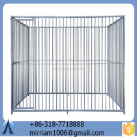 New design hot sale strong galvanized wire outdoor dog kennels/pet houses/pet cages