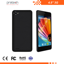 best price OEM 4.5 inch mobile phone 3G WCDMA Quad-core smartphone android cell phone FWVGA 854*480