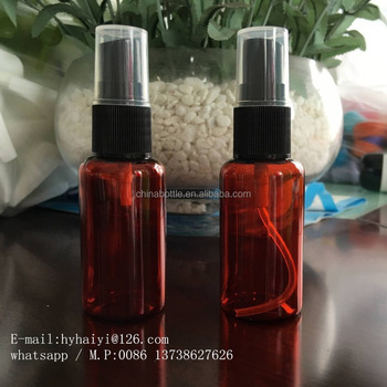300ml body mist spray bottle plastic PET bottle