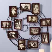 2015 Family Hanging Spiral Latest Design of Free Sexy Wooden Photo Frame