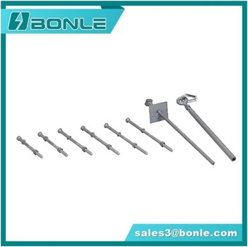 China Manufacture Power Line Hardware Ground Rod
