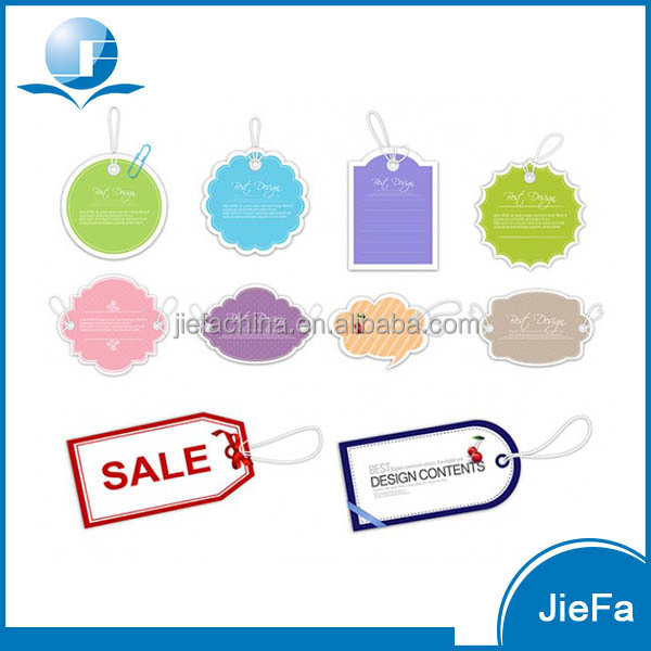 Hot Sale Colorful Paper Price Tag