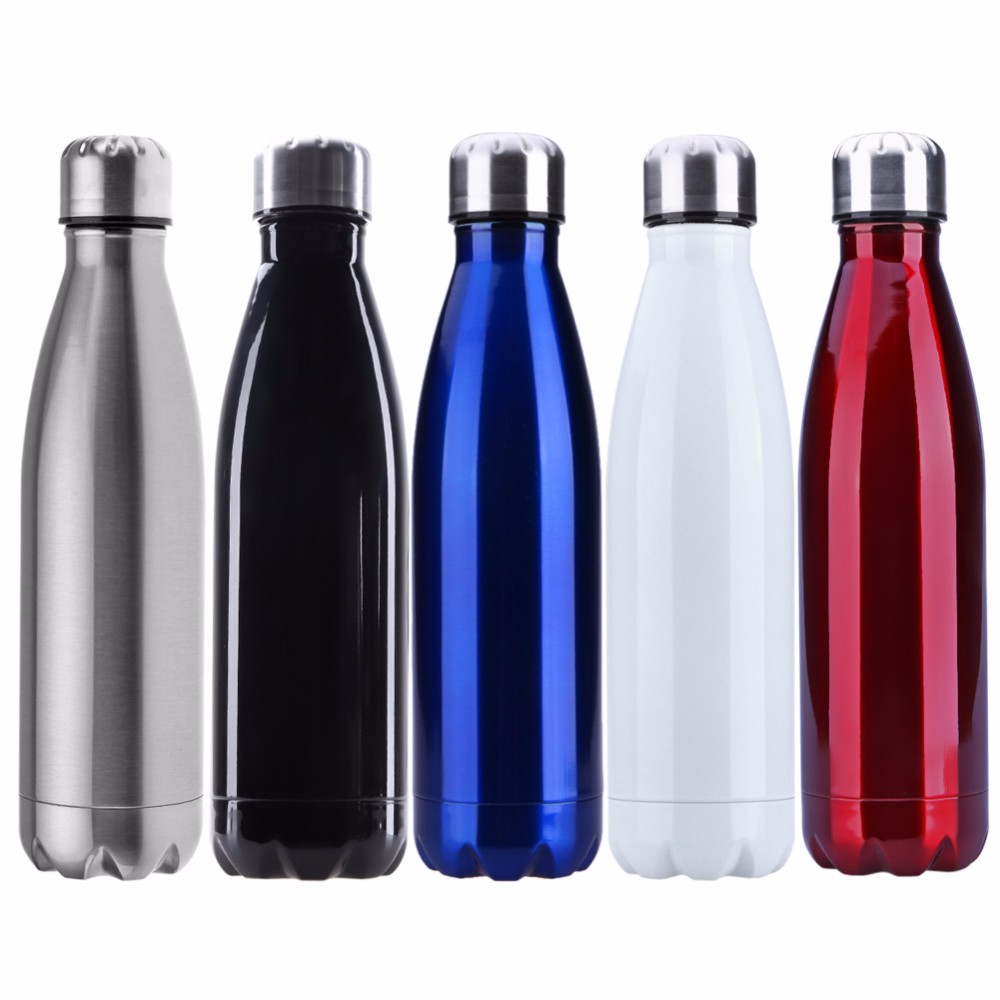 Keeps Drinks Cold for 24 hours Stainless Steel Vacuum Insulated Water Bottle Leak-proof Double Walled water Bottle