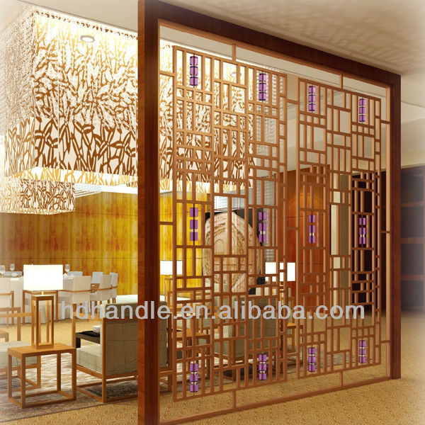 Stainlesss steel indoor art room screen divider