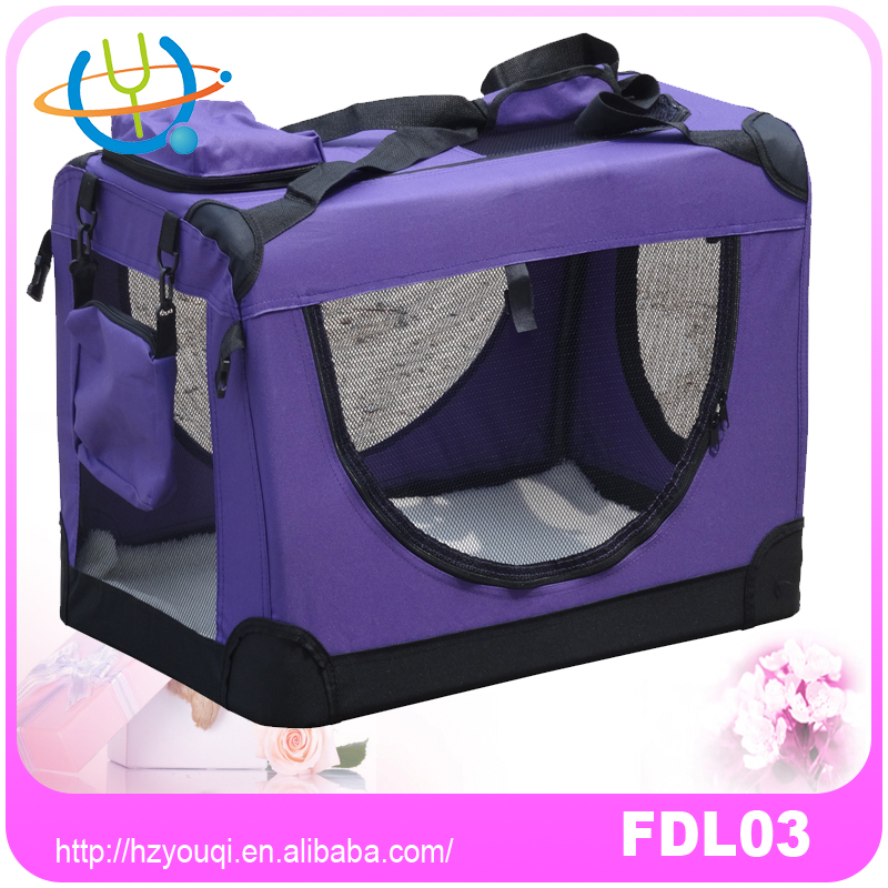 Portable Soft Pet Carrier or Crate or Kennel for Dog or other small pets
