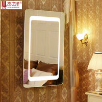 led bathroom mirror,bathroom mirror with led light,full length lighted mirrors 2015 hot sale