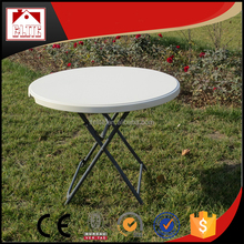 outdoor BBQ small round table for outdoor picnic
