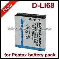 For Pentax D-Li68 Rechargeable Batteries For Camera Optio A36 Optio S10