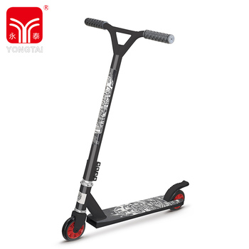 Wholesale Professional Black Pro Stunt Scooter For Kids With PVC Handle