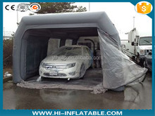 Custom PVC Inflatable Event Tents , Giant Inflatable Car Paint Booth