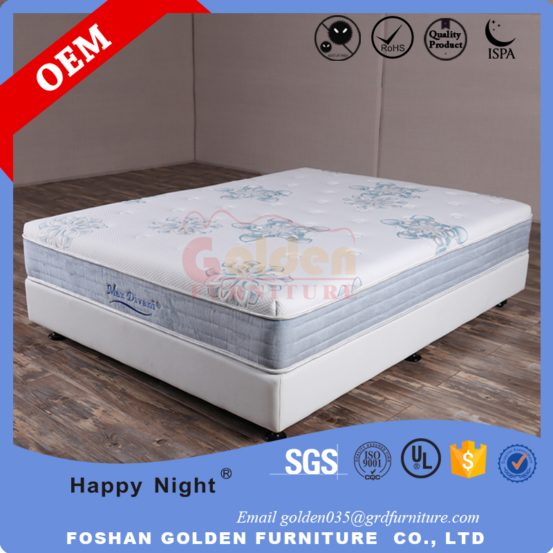 Foshan Mattress Manufacturer Excellent Quality Compressed Box Spring Mattress CF16-13