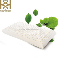 Bedroom and Home Furniture Natural Latex Classic Pillow with Small Massage Point in China