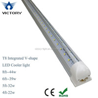 150cm wide angle 270 degree 32 watt t8 double pcb led tube light with bracket