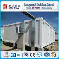 PU sandwich panel prefab container house for United Nations