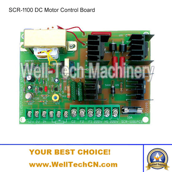 SCR-1100 DC Motor Control Board, DC Motor Speed Control Board DC 180-245V <strong>200</strong>-800W DC Motor Regulator Bag Making Machine <strong>Parts</strong>
