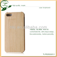Custom design engraved recycled real wooden cell phone case for iphone 5 for wholesale