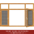 high quality casement aluminium windows with mosquito net