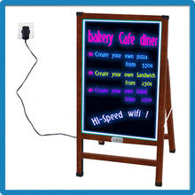 Best selling christmas gifts 2015 diy handwriting and drawing led board for sale
