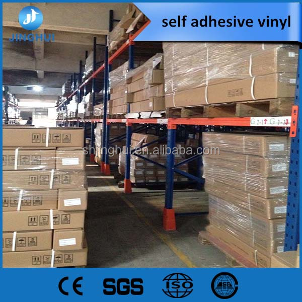 Custom vinyl stickers 90g self adhesive cast vinyl for bus
