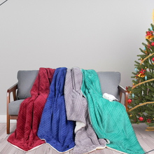 World Class Super Soft Weighted Polyester Knitting Mink Woven Throw Mexican Yoga Blanket For Adult Wholesale