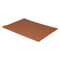 2018 Wholesale Executive PU Leather Office Durable Big Size Desk Pads with Custom Logo Embossed