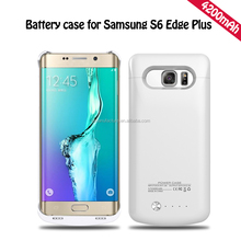 Lithium ion polymer battery 4200mah battery case for Samsung S6 edge plus