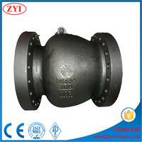 High performance electric actuator axial flow check valve