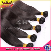 Wholesale virgin high quality 100 percent indian remy human hair