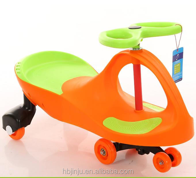 Baby outdoor sports exercise eco-friendly baby swing twist car kids swing car