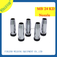 High quality binzel 24KD welding gas nozzle&gas cutting nozzle for torch