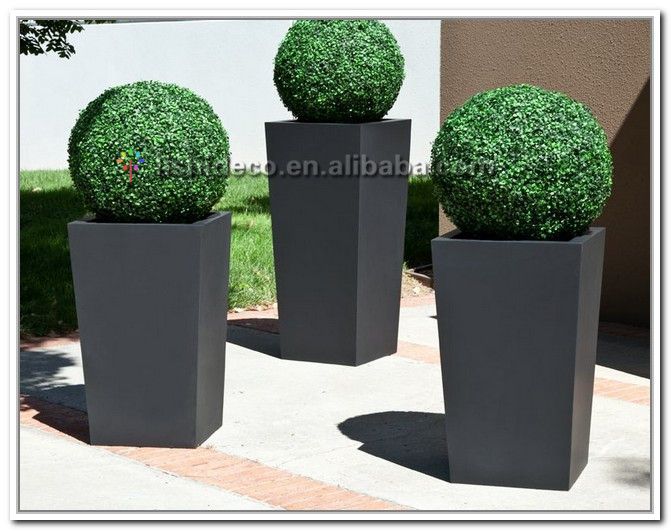 UV resistant boxwood artificial topiary grass ball