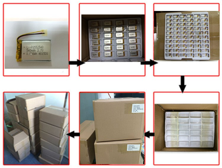 Аккумуляторная 3.7 В 600 мАч 901738 li литий-полимерный аккумулятор с печатной платы и разъем