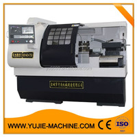 China new cnc lathe machine 2 step high speed and low speed CK6140B