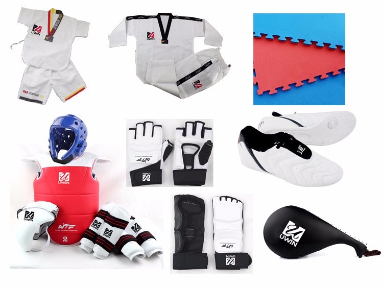 Summer Taekwondo Uniform One Suit White itf taekwondo uniform Kids