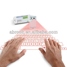 2017 Best seller Projected magic cube wireless virtual laser keyboard price