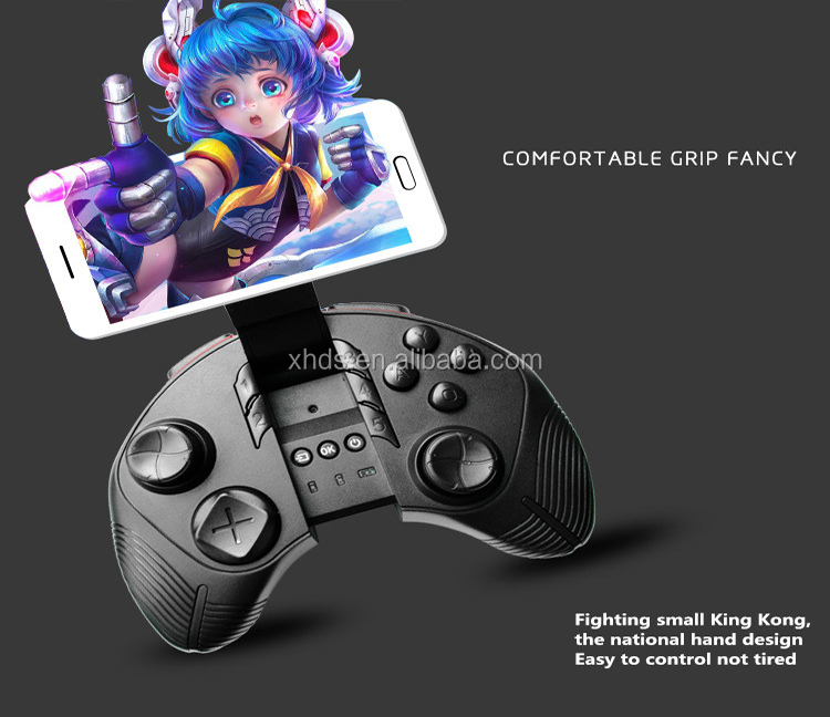 Mini wireless Bluetooth Remote Controller for IOS & Android for VR Box Virtual Reality 3D Glasses game controller