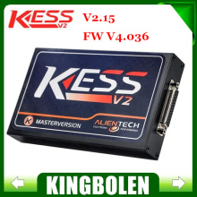 Newest Master Version V2.23 KESS Tuning Kit No Token Limitation No Need Activate Kess V2 ECU Programmer Works on Both WinXP/Win7