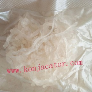 No smelling healthy loss weight dry Shirataki noodles