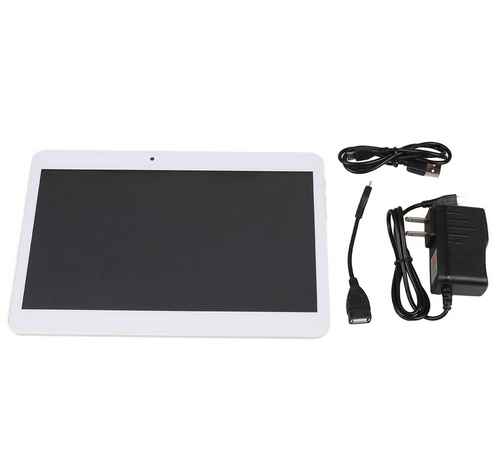 "10"" Android 4.4 Tablet PC Quad Core Tab 10.1"" WLAN 3G Phone 1.6ghz GPS Wifi"