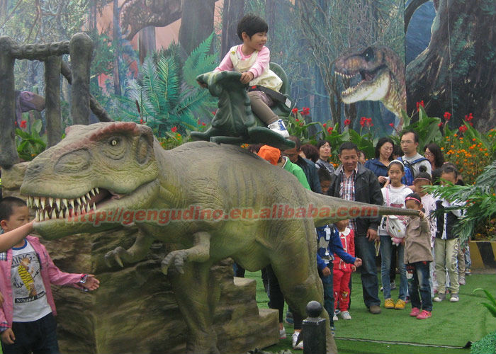Amusement Park Ride Dinosaur For Kids To Sale