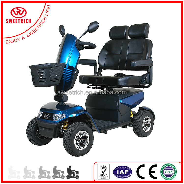 New Trendy Factory Made Cheap Mobility Scooter Two Seat