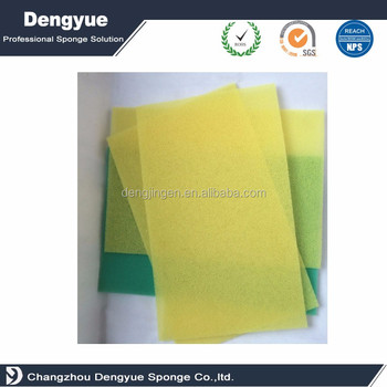 Bulldozer dust filter and ventilating filter sponge