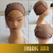 Wholesale silk lace cap for wig making,full silk cap lace wig,mesh weaving wig cap