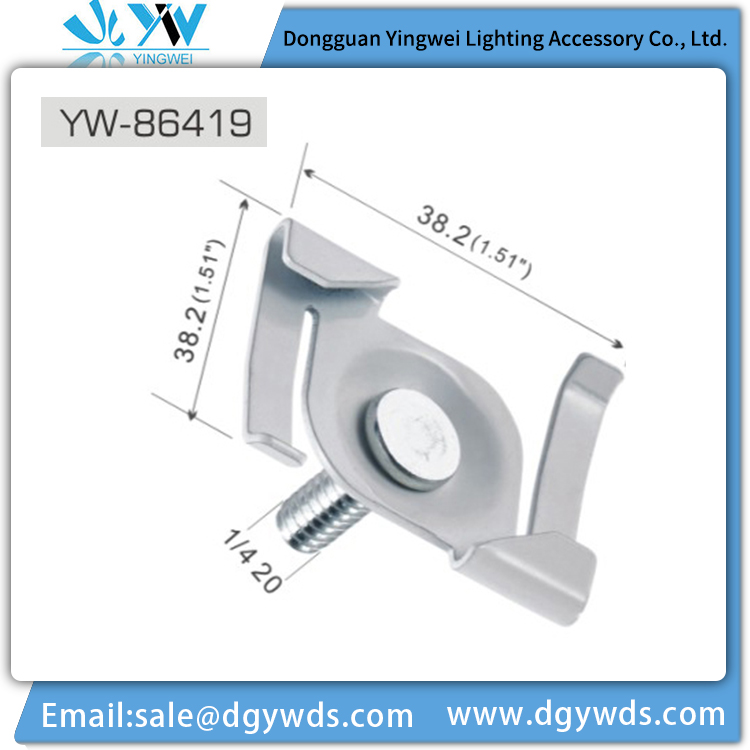 China Manufacturer Customized Adjustable Ceiling Light Mounting Bracket
