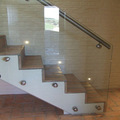 12mm Tempered Glass Stair railing glass