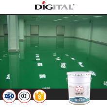 Factory anti-dust epoxy resin flooring coating