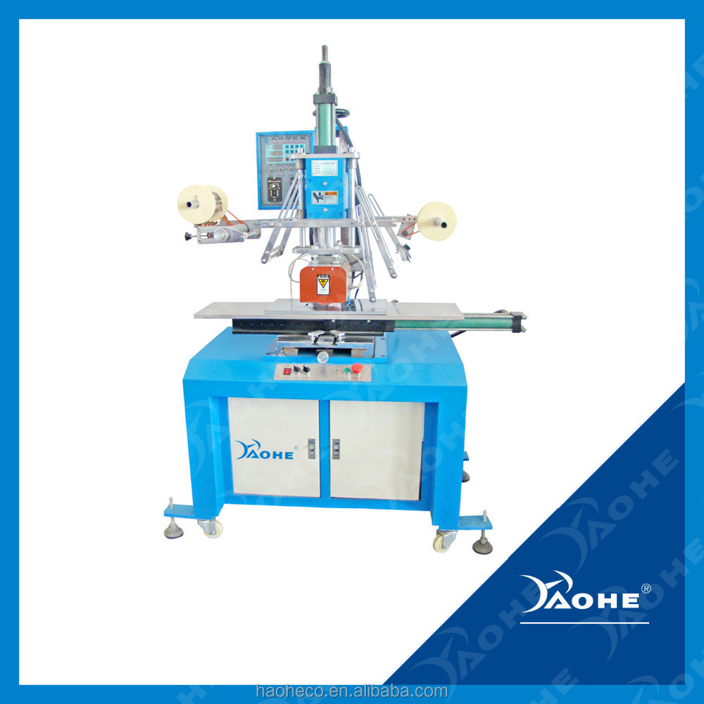 Bucket printing Hot Foil Stamping Heat Transfer Machine for plastic garbage bin